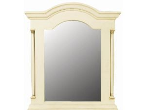 Ailesbury Ivory Wooden Mirror