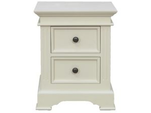 Deauville Ivory Bedside Table