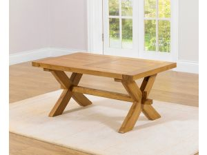 Avignon Extending Solid Oak Dining Table Extends to 200cm