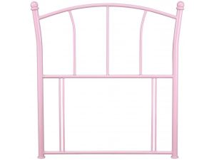 Serene Penny 3ft Single Pink Metal Headboard