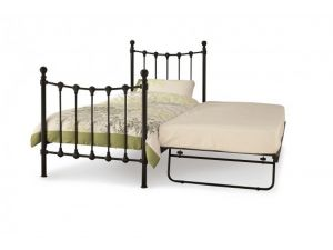 Serene Marseilles 3ft Single Black Metal Day Bed