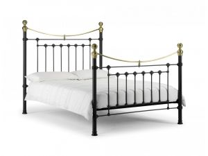 Julian Bowen Victoria 3ft Single Black Metal Bed