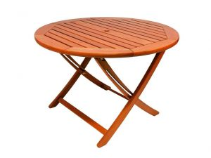 Alexander Rose Cornis 1.1m Round Folding Table