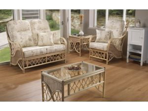 Desser Oslo 3 Piece Suite Inc. 2+1+1 Seater Conservatory Set