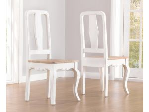 Sienna Grey Dining Chairs - Pair