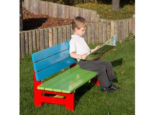 Childrens Painted Bench For Age 2 to 5