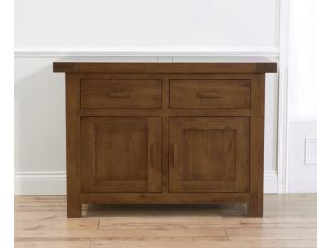 Avignon Dark Solid Oak 2 Doors And 2 Drawers Sideboard