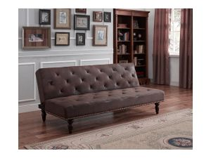 Chigwell Brown Leather Sofa Bed