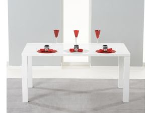 Hereford 160cm MDF High Gloss Dining Table