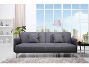 Sven Pebble Grey Fabric Sofa Bed
