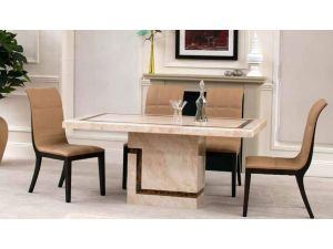 Filippo Marble 120cm Dining Table