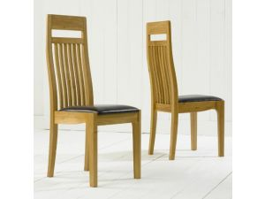 Canterbury Solid Oak Dining Table + 8 Monte Carlo Dining Chair Dining Set