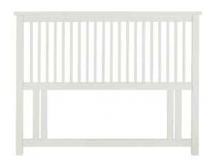 Bentley Designs Atlanta White 4ft Small Double Headboard