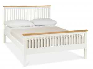 Bentley Designs Atlanta Two Tone 5ft Kingsize High Footend Bedstead
