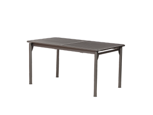 Royalcraft 152cm Rectangular Thermosint Extending Dining Table