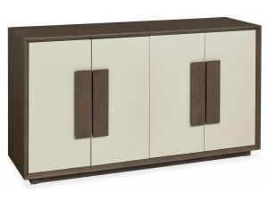 Bentley Designs City Soft Grey and Weathered Oak Wide Sideboard