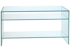 Greenapple Glass Console Table