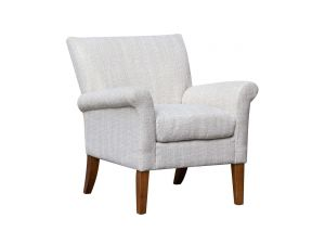 Balmoral Natural Fabric Accent Chair