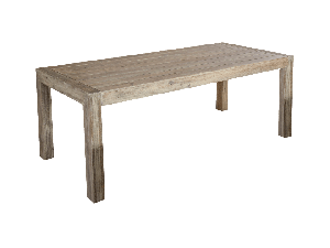 Alexander Rose Mahogany Distressed 200 x 90cm Wooden Table