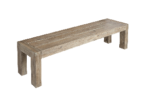 Alexander Rose Mahogany Distressed 180 x 40 cm Wooden Bench