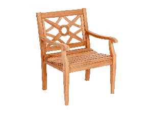 Alexander Rose Mahogany Heritage Wooden Armchair