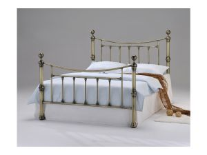 Southford 4ft6 Double Brass Metal Bed