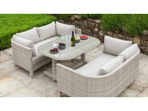 Alexander Rose Ocean Pearl Rattan Sunset Loung