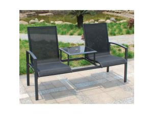 Royalcraft Sorrento Black 2 Seat Duo Companion Seat