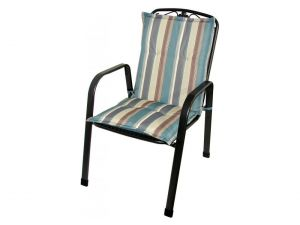 Royalcraft Teal Stripe Savoy Cushion (Sold In 4'S Or 6'S Only)