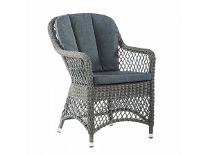 Alexander Rose Monte Carlo Open Weave Chair With Cushions