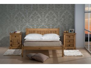 Birlea Rio 4ft6 Double Pine Bed