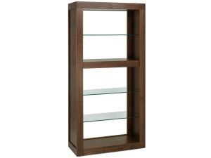 Bentley Designs Akita Walnut Open Display Unit