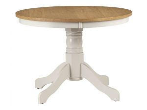 Julian Bowen Davenport Wooden Round Pedestal Table