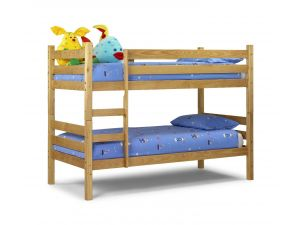 Julian Bowen Wyoming 3ft Single Pine Bunk Bed