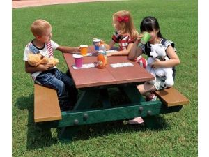 Childrens 122cm Picnic Table
