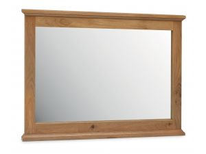 Bentley Designs Provence Oak Wide Wall Mirror