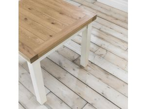 Bentley Designs Provence Two Tone 2-4 Draw Leaf Extension Table