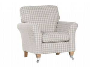 Alstons Newport Fabric Accent Chair