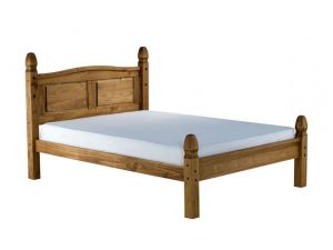 Birlea Corona Solid Pine 4ft6 Double Low End Bed