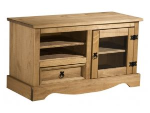 Birlea Corona Solid Pine Entertainment Unit