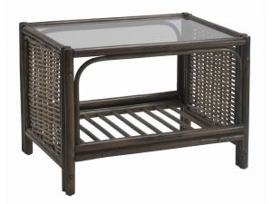 Desser Chester Coffee Table & Clear Glass
