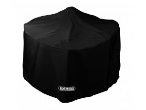 Bosmere Storm Black Large Round Fire Pit Cover