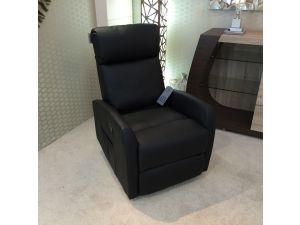 Fairmont Dijon Leather Massage and Heat Recliner Armchair