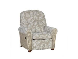 Cane Della Recliner With Electric Motorized Mechanism