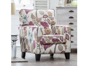 Alstons Venice Fabric Accent Chair