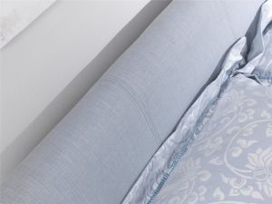 Serene Hazel 4ft6 Double Wholemeal Fabric Bed