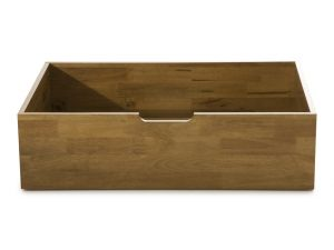 Serene Macy Hevea Honey Oak Storage Drawers