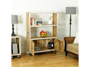 Roadie Chic Large Bookcase with doors