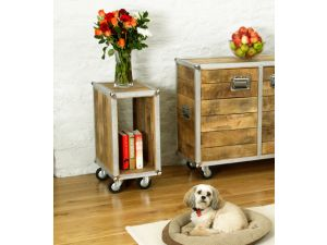 Roadie Chic Lamp Table / Bedside Table