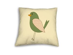 Leisuregrow Casual Cream Country Bird Scatter Cushion